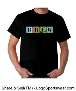 BREW Elements Logo Tee-Shirt- Dark Shirts Design Zoom